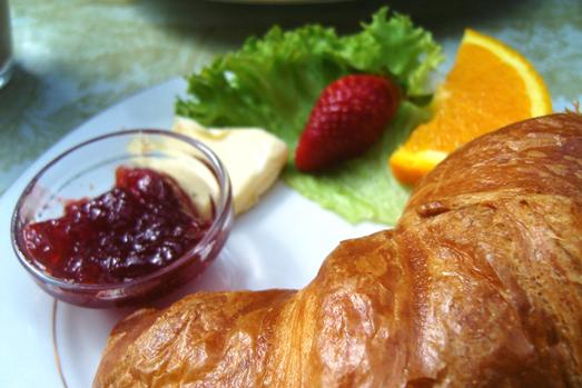 Frühstück Cote d'Azur