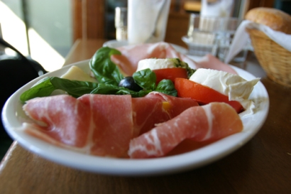 Amphore Frühstück