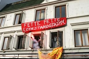 fette Leerstandsparty