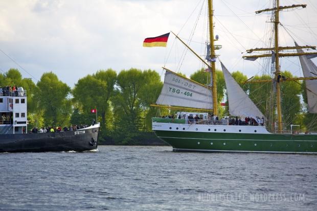 Hafengeburtstag 2013 Stettin und Alexander von Humboldt II