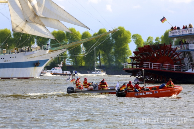 Hafengeburtstag 2013 Auslaufparade MIR