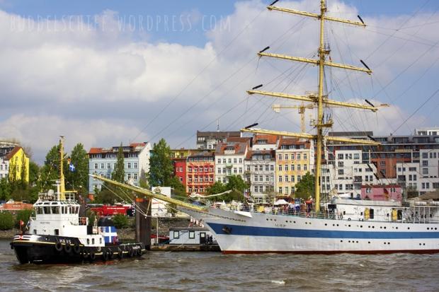 Hafengeburtstag: Mir und Schlepper