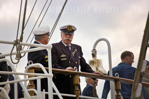 Hafengeburtstag: feine Uniformen