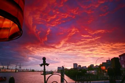 Himmel über Hamburg