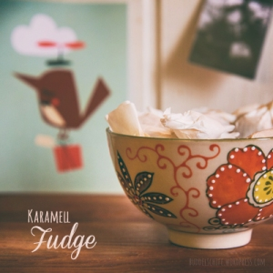 Karamell Fudge